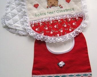 Baby bibs, kids items, children clothing, kids bibs, infant  clothing,  Cristmas burp cloth, infant accessories,