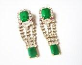 M I M I Green Earrings