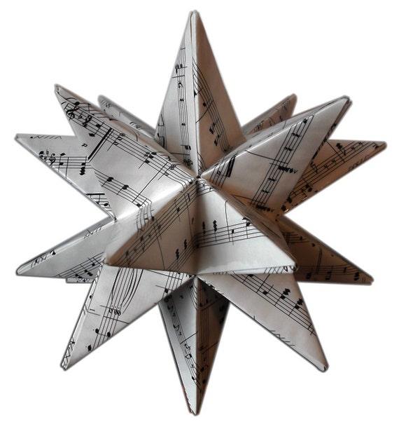 Music Christmas Tree Topper Christmas Tree Topper Sheet
