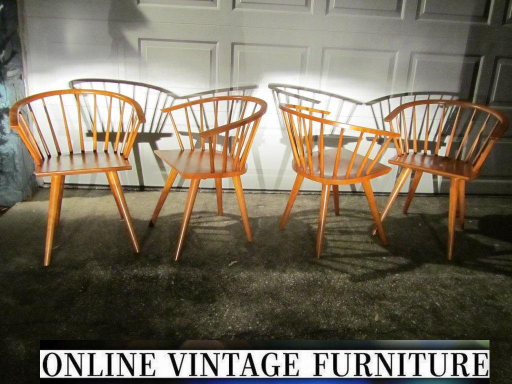 RESTORED Conant Ball Chairs vintage mid century midcentury