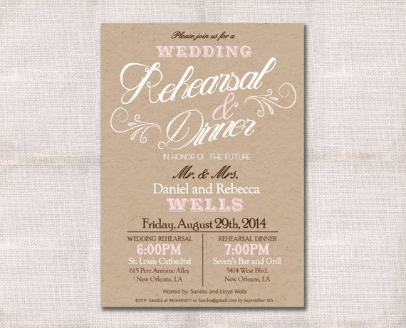 Breathtaking image throughout printable rehearsal dinner invitations