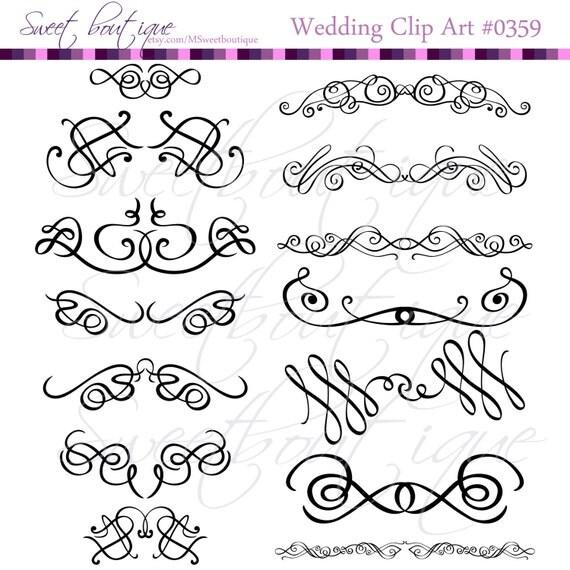 My Wedding Invite Clip Art At Clker Com: Calligraphy Clip Art Clipart DIY Wedding Invitation Designs
