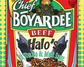 Chief Boyardee Poster