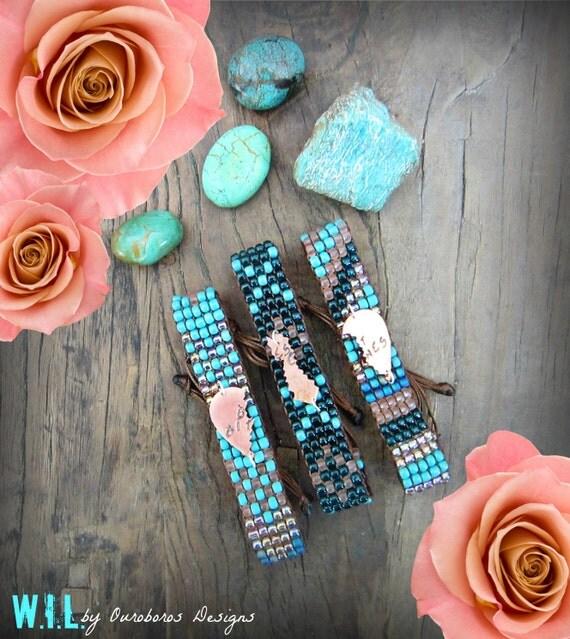 BEST BITCHES 3-Way Friendship Bracelets - W.I.L. by Ouroboros Designs