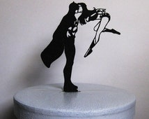 Wedding Cake Topper - Batman and Wonder Woman cake topper