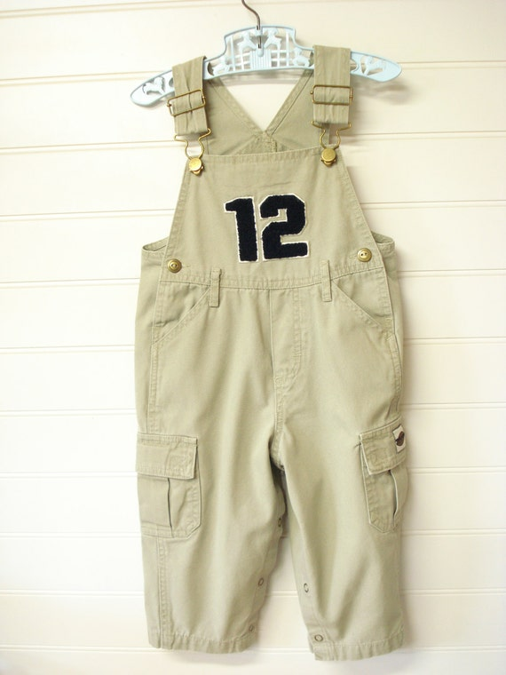 vintage baby clothes baby boy overalls with 12 applique