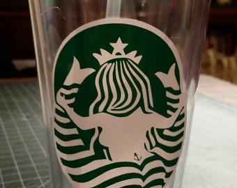 Starbucks Custom Front & Back tumbler