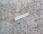 You're My Person Necklace, Personalized Name Necklace