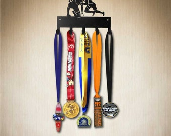Award Holder - Wrestling Figures Medal Hanger, Medal Holder, Medal Rack, Medal Hook,  Medal Display . Larger size available