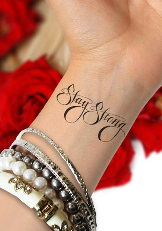 Ben noto Stay Strong Tattoo With Saying Pictures to Pin on Pinterest  UE41