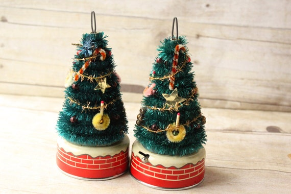 Vintage Blinking Christmas Tree Battery Operated By Relco Made