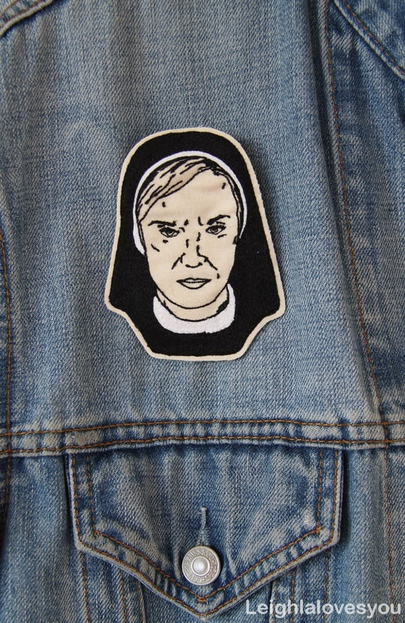 Sister Jude Embroidered Patch/Brooch