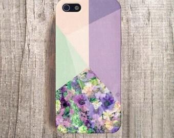 Floral iPhone Case, Plastic iPhone 4 Case, Floral iphone 5 Case, Floral iPhone 5s Case, Floral Samsung Galaxy S4 Case iPhone 6 Case