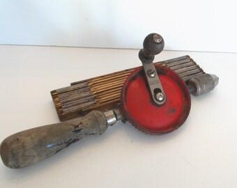 Vintage Crusty Industrial Defiance Hand Drill
