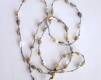Game of Thrones Seashell Birds Nest Wrap Necklace / Bracelet