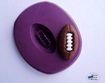 Football Mold - Sports - Silicone Molds - Polymer Clay Resin Fondant