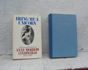 Anne Lindbergh Diaries and Letters 1922-1928 Plus Real Newspaper Clippings Included