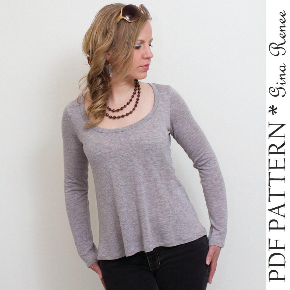 Innovative 30 New T Shirt Dress Pattern For Women U2013 Playzoa.com