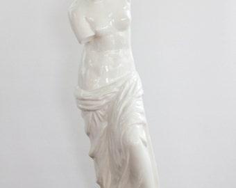 Vintage Venus De Milo Statue