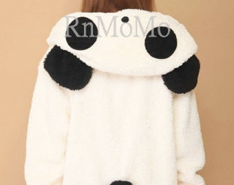 Panda hoodie  KIGURUMI Cosplay  Charactor animal Hooded  Pajamas Pyjamas Xmas gift Adult  Costume outfit  hoodies