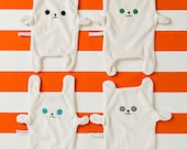 Baby Comforter/Dribble Cloth/Suckie - made from Organic Cotton & Bamboo