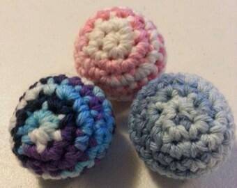 Crochet Cat Toy - Crochet Cat Jingle Ball