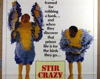 Movie Poster      Stir Crazy    Original Movie Poster 1980