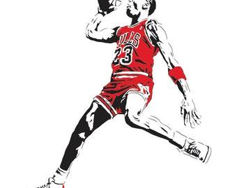 Michael Jordan Etsy Uk