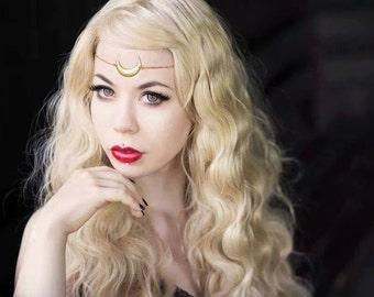 Sailor Moon inspired circlet. Princess and Queen Serenity