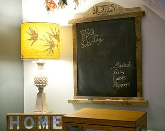 Reclaimed Wood Blackboard Chalkboard