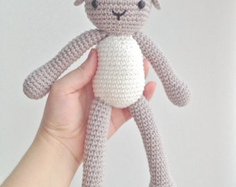 Pattern for Sheep Lamb Amigurumi