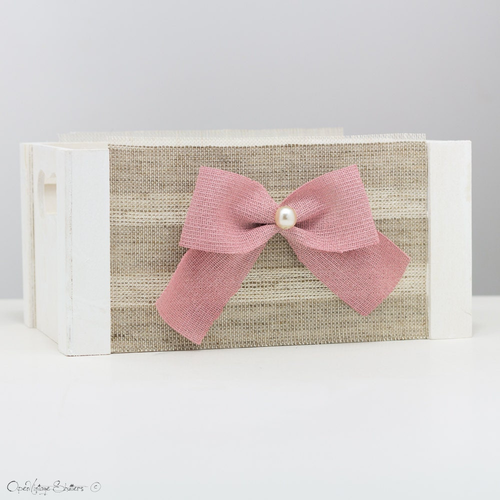 Baby shower centerpiece wood crates decoration