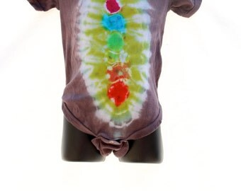 Tie Dye Baby 18 Month Creeper