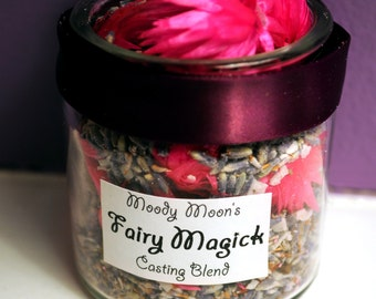 Fairy Magick Incense Casting Blend for the Fae, wishing spells, ostara, beltane