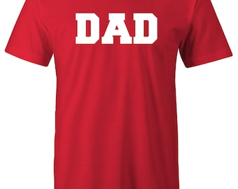 DAD. Fathers Day Gift. Dad To Be. Gifts For Dad. Christmas Gift For Dad. T-Shirt Mens Kids Funny Daddy To be