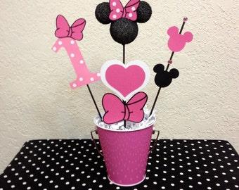 Minnie Mouse Birthday Decoration Centerpiece - Baby Shower