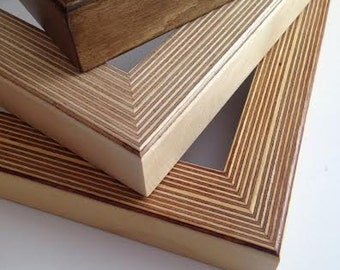 Handmade Birch Plywood Frames