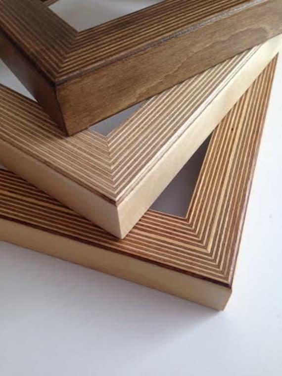 Handmade birch plywood frames