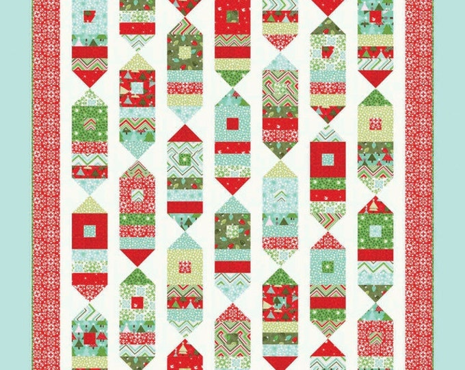 Joyfully Quilt Pattern #127 by Cluck Cluck Sew - Fun and Festive - Fast Beginner Quilt (W749)