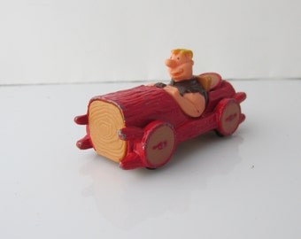 Flintstones Barney Rubble Buggy Corgi Diecast Car Vintage 1980s