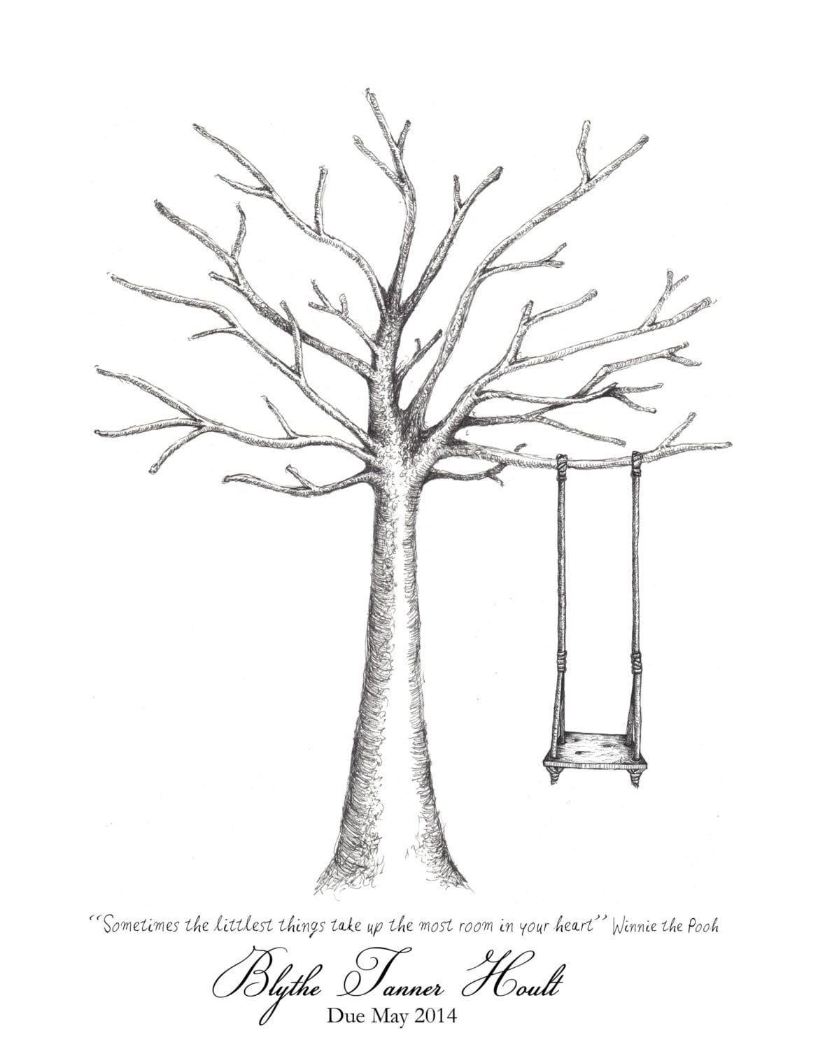 Impeccable image intended for fingerprint tree printable