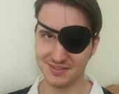 Black Leather Eyepatch