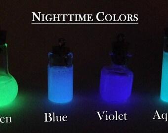 Glow in the Dark Miniature Bottles