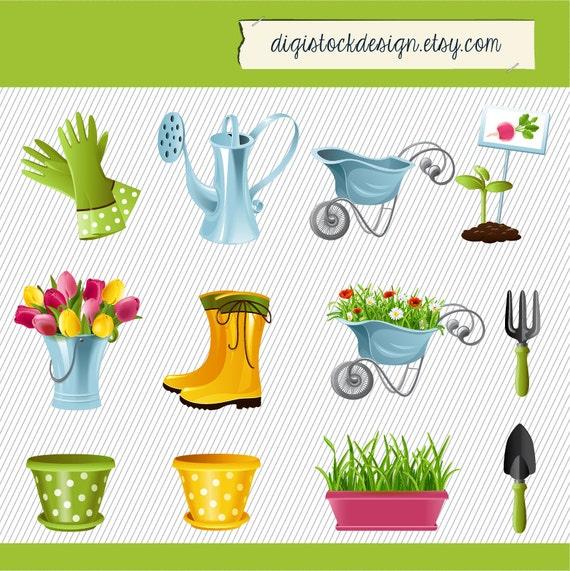 clipart garden tools - photo #47