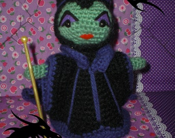 Maleficent amigurumi pattern PDF