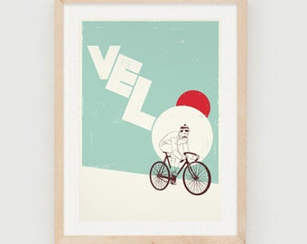 Velo print by John Coe
