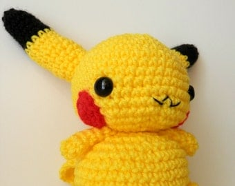 Amigurumi Pokemon Patterns Free : Amigurumi chibi doll pattern free slugom for