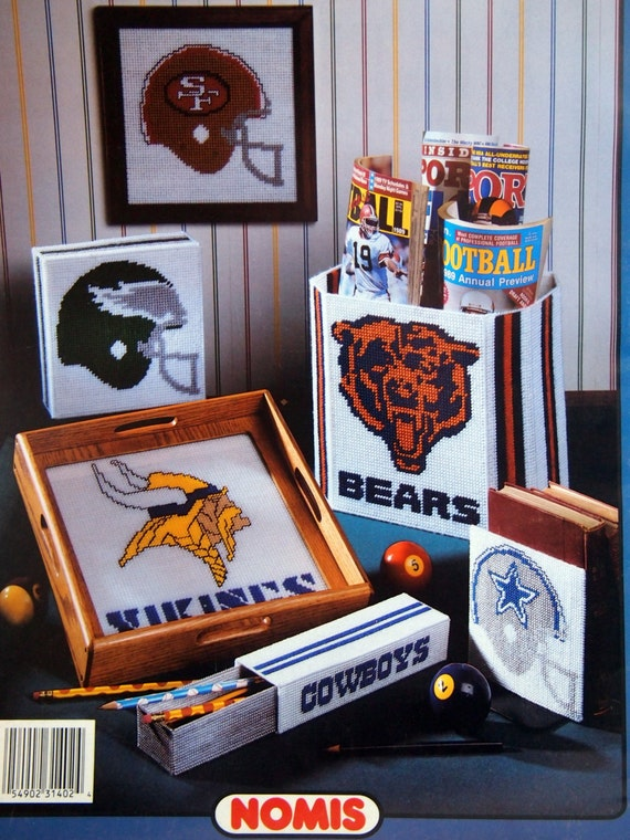 Nfl Plastic Canvas 8 Items For Use In The Home Volume 1402 By