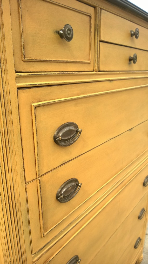 Sold Example Chalk Painted Dresser Chest Of Drawers Annie