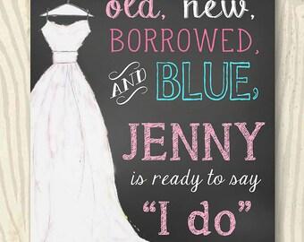 Bridal Shower | Wedding Shower Chalkboard Sign